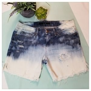 Joe's Jeans Cut Off Shorts Bleached Distressed